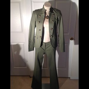 ATTENTION MILITARY STYLE SUIT-- CONTEMPORARY FIT
